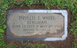 Phyllis E <I>White</I> Bergman