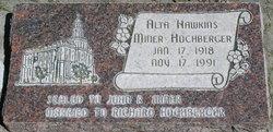 Alta Elsie Jane <I>Hawkins</I> Hochberger