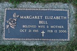 Margaret Elizabeth <I>Bye</I> Bell
