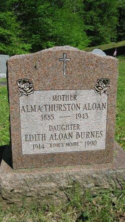 Edith <I>Aloan</I> Burnes