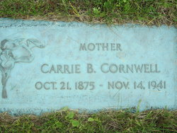 Carrie B Cornwell
