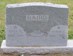 Lilly Florence <I>Beck</I> Baird