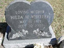 Hilda M. <I>Ellis</I> Wheeler