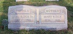 Mary W.* <I>Weider</I> Dick