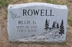 Billie G. Rowell