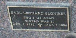 Earl Leonard Sloniker