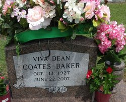 Vivia Dean <I>Sullivan</I> Baker