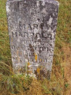 Mary Elizabeth <I>Hyre</I> Harpold