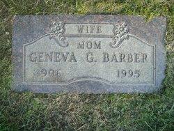 Geneva G <I>Kohr</I> Barber