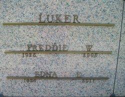 Edna Elizabeth <I>Burden</I> Luker