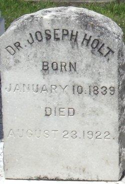 """Dr Joseph Johnson """"Joe"""" Holt"""