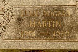 Elsie Emma <I>Rogers</I> Martin