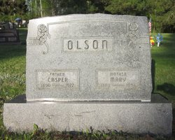 """Anne Marie """"Mary A"""" <I>Peterson</I> Olson"""