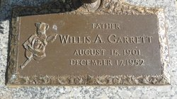 Willis Albert Garrett