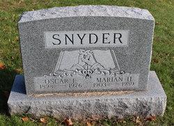 Marian H. <I>Worthington</I> Snyder
