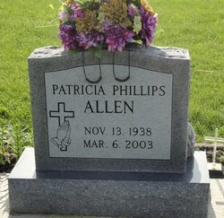 Patricia <I>Phillips</I> Allen