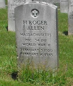 PFC H. Roger Allen