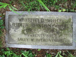 Judith <I>Boston</I> White