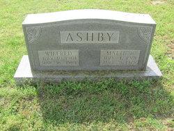 Mattie B <I>Bennett</I> Ashby