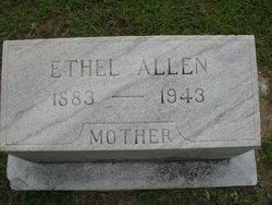 Ethel <I>Kimble</I> Allen