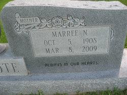 Marree <I>Newell</I> Calcote