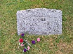 Maxine E Hill