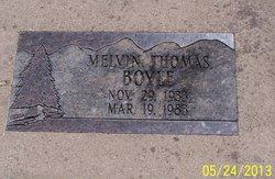 Melvin Thomas Boyle