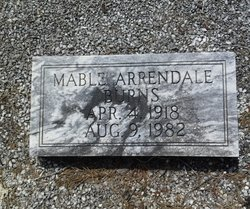 Mable <I>Arrendale</I> Burns