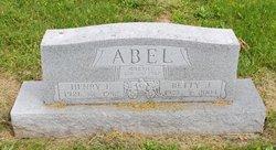 Betty Justine <I>Applegate</I> Abel