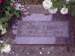 Harley Frank Barrett