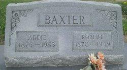 Addie <I>Moore</I> Baxter