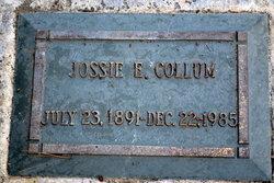 Jossie E Collum
