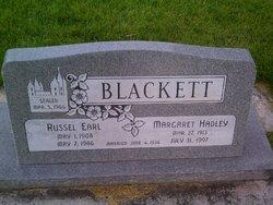 Margaret <I>Hadley</I> Blackett