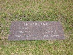 Sidney A McFarland