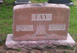 Margaret A <I>Bayles</I> Fay