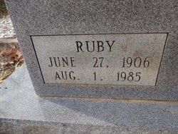 Ruby Myrtle <I>Lee</I> Norbury