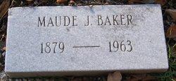 Maude J Baker