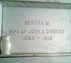 Bertha M. Dibbern