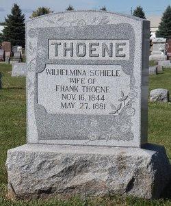 Wilhelmina Schiele Thoene