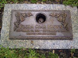 Flora Myrl <I>Soar</I> Brown
