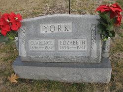 "Clara Elizabeth ""Lizzie"" <I>Morrison</I> York"