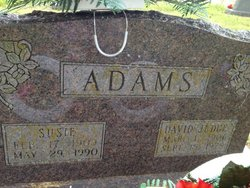 "David Judge ""Judge"" Adams"