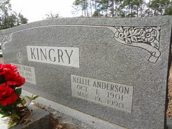 Nellie <I>Anderson</I> Kingry