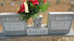 Norma Faye <I>McKee</I> Babson
