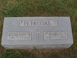 """Alexander Robert """"Alex"""" Petroske"""