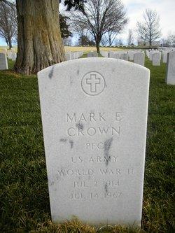 Mark E Crown