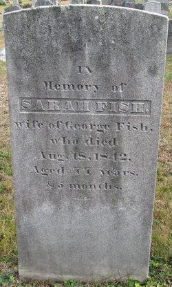 Sarah <I>Hinckley</I> Fish