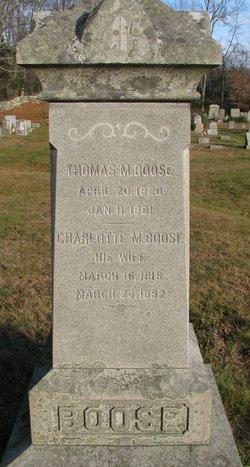Thomas M Boose