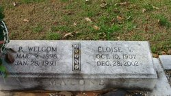 Eloise L <I>Vaughn</I> Malone