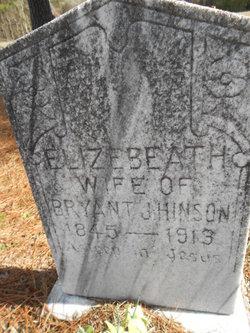 Elizebeath <I>Hattaway</I> Hinson